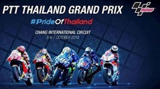 Hasil Kualifikasi MotoGP Thailand: Marquez Pole, Rossi Kedua