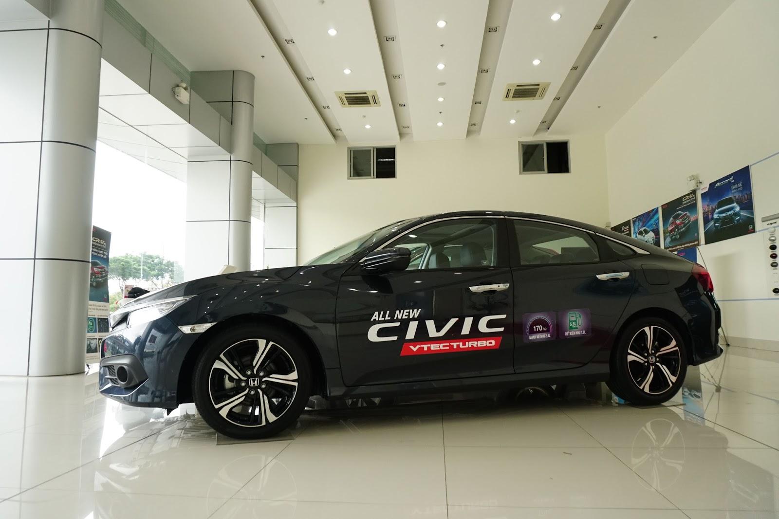 Đây là chiếc Honda Civic 2016 đầu tiên tại miền nam thời điểm hiện tại