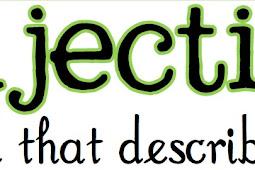 Kumpulan Adjective - Yoa Learn