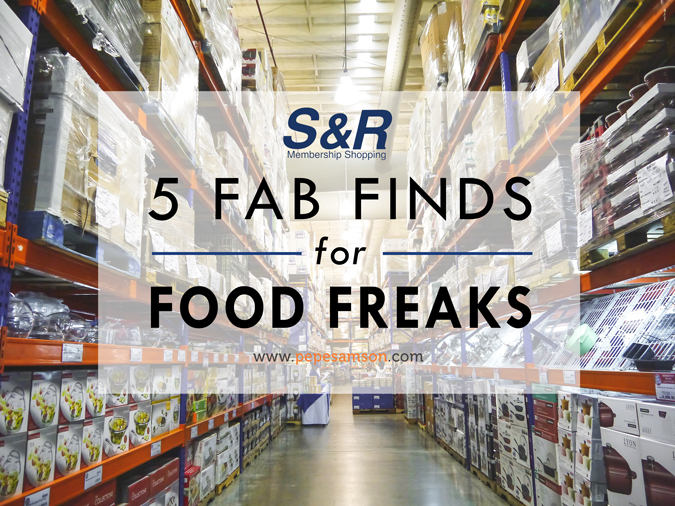 S&R Membership Shopping: 5 Fab Finds for Food Freaks