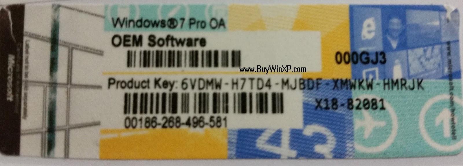 windows 7 pro keys free