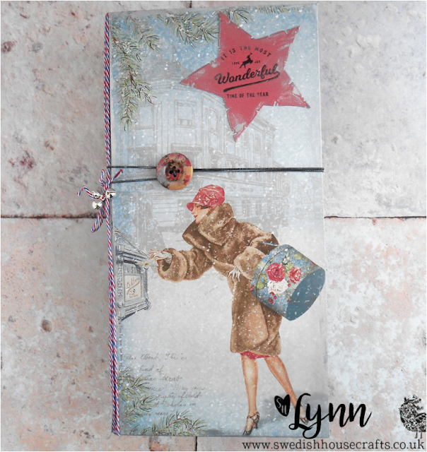 Maja Christmas Mail the Postcards organiser | By Lynn