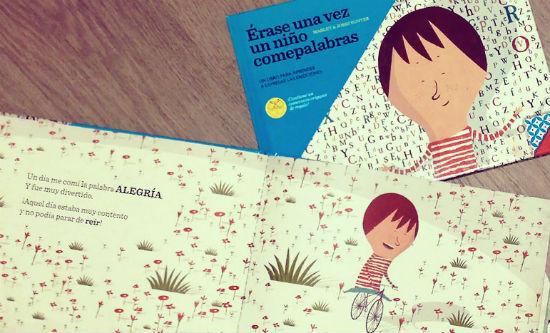 Libro infantil para la educación emocional: érase una vez un niño comepalabras
