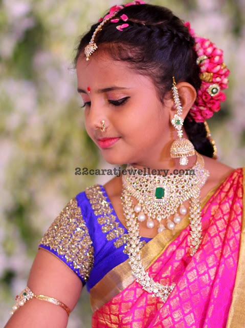 Nimisha Half Saree Ceremony