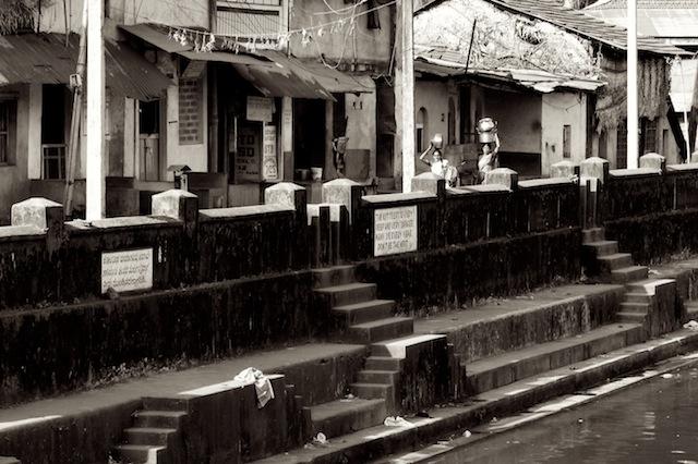 Katunäkymä Intian Gokarnasta v. 2007