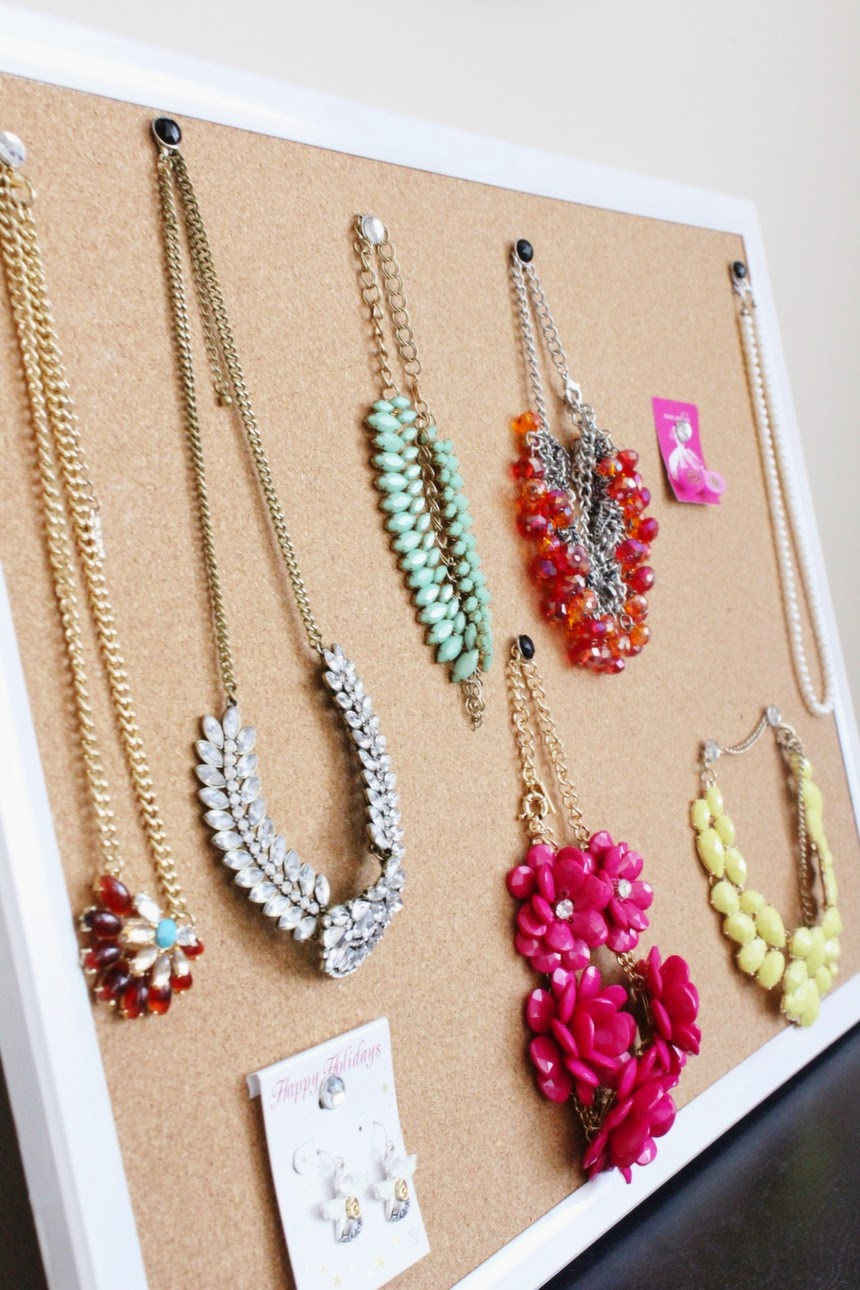 DIY Jewelry Holder - The Happy Flammily