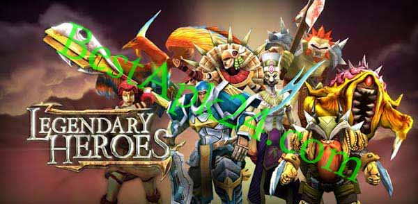 Legendary Heroes MOD APK v3.0.5 (unlimited gold & crystal) Download Direct Link's 2