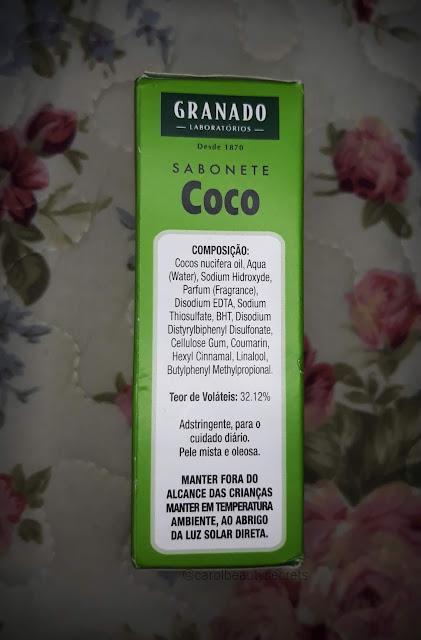 resenha_Granado_Pharmácias_vintage_sabonete_coco_pele_oleosa_mista_adstringente_carolbeautysecrets_composicao
