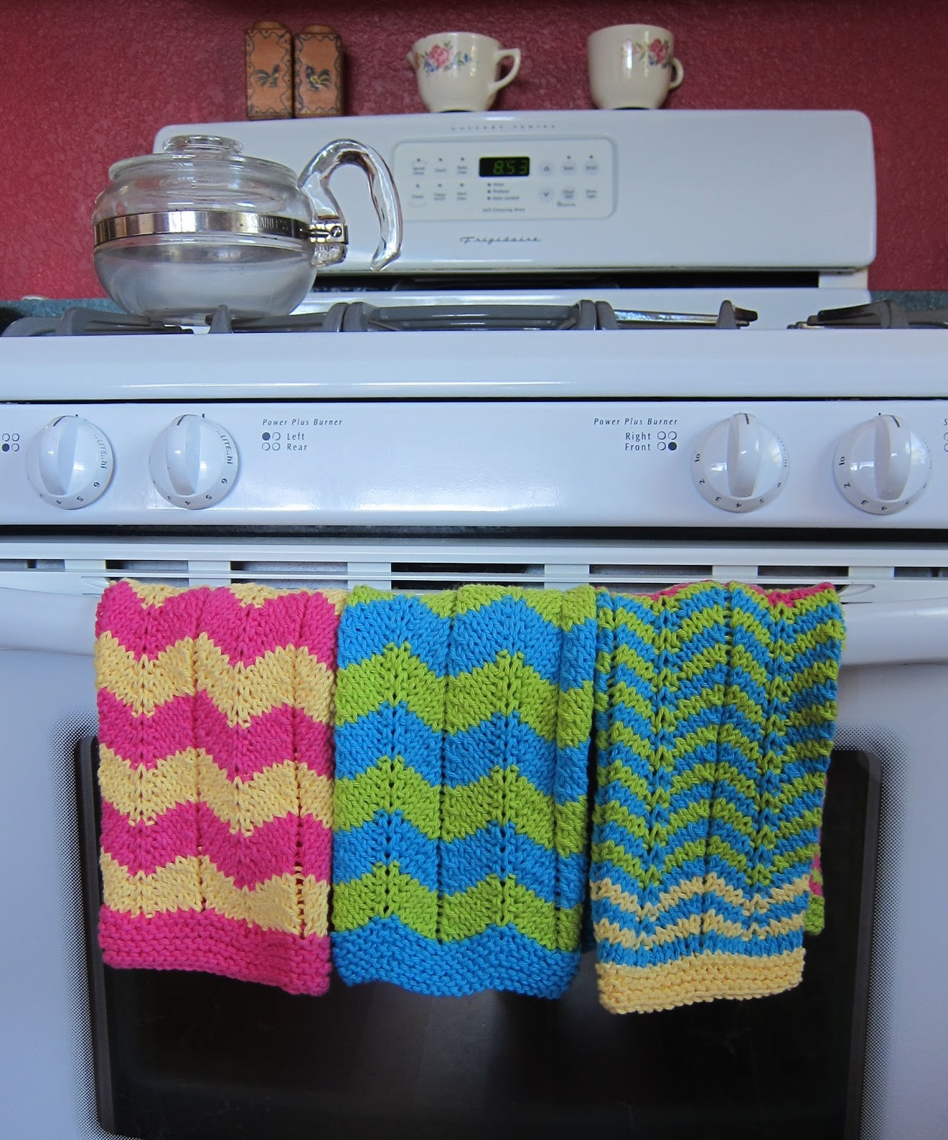 Thinking Out Loud Knitted Kitchen Towels Free Pattern