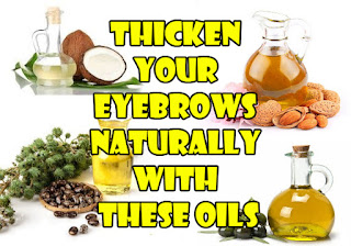 Thicken your eyebrows naturally with these oils