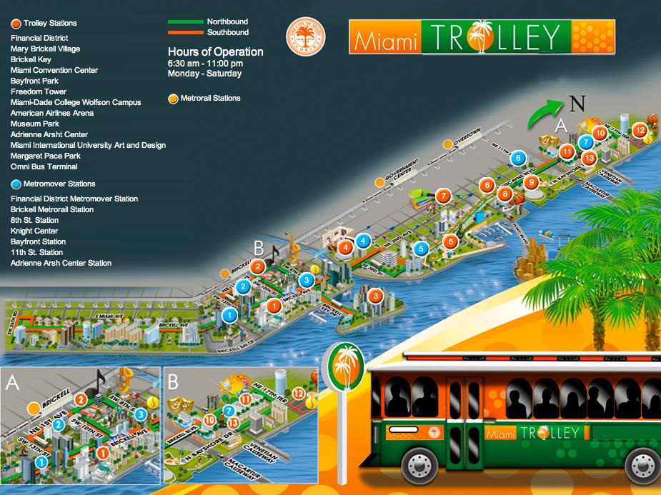 miami riches real estate blog: miami-dade trolley
