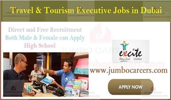 Dubai office jobs, Travel And Tourism Jobs Walk In Dubai