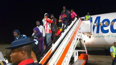 FB IMG 1518510103780 - Photos: Fifth batch of Libyan Returnees arrive in Port Harcourt