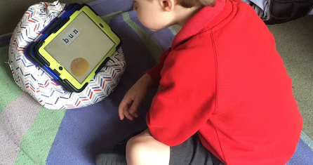 Why my autistic son spends hours playing on his iPad
