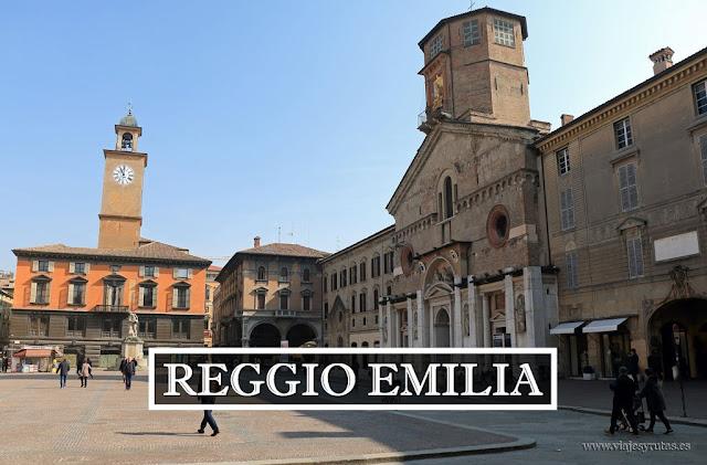 Reggio-Emilia, donde nació la bandera tricolor italiana
