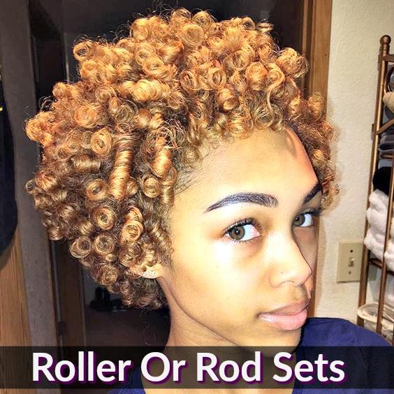 Natural Hair Foam Wrap