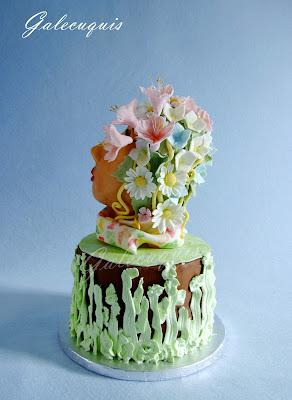 tarta busto primaveral