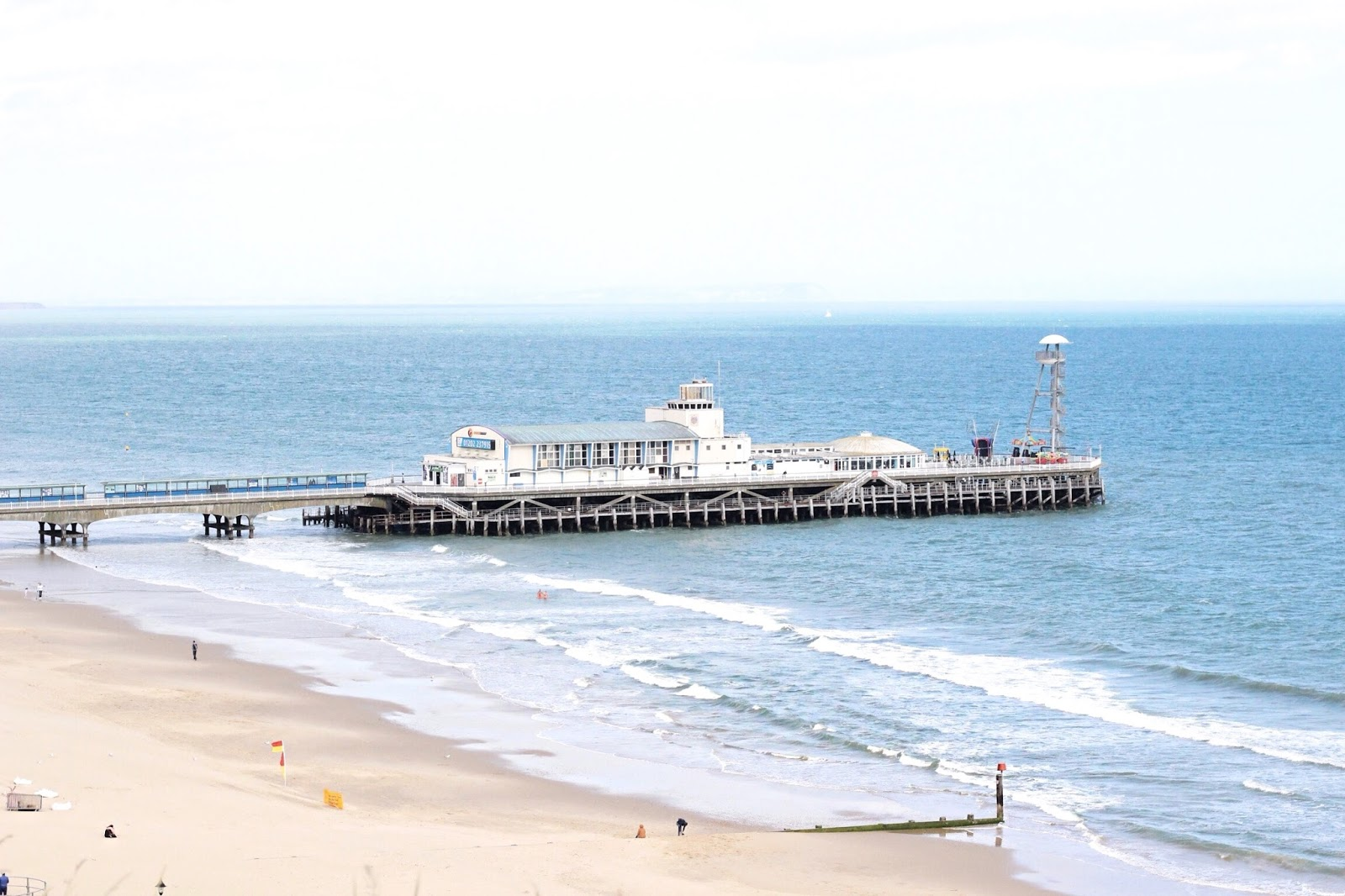Bournemouth Pier from a distance