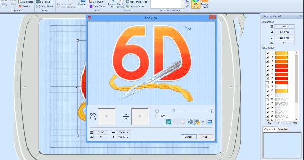 6d Embroidery Software 1 Software Unlimited License Software