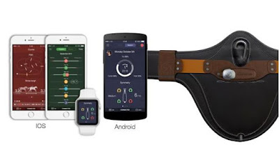 Balios smart wearable for horses