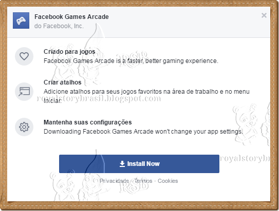 Facebook Game Room Error