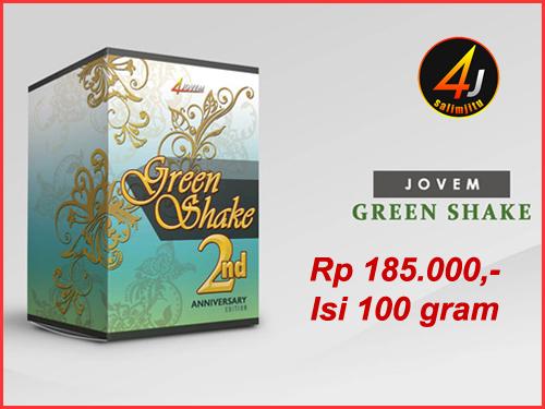 Harga 4jovem Green Shake 2017