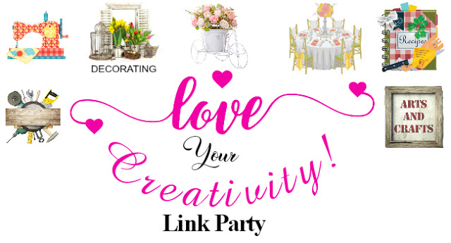 New Love Your Creativity Link Party on Sundays!!!!