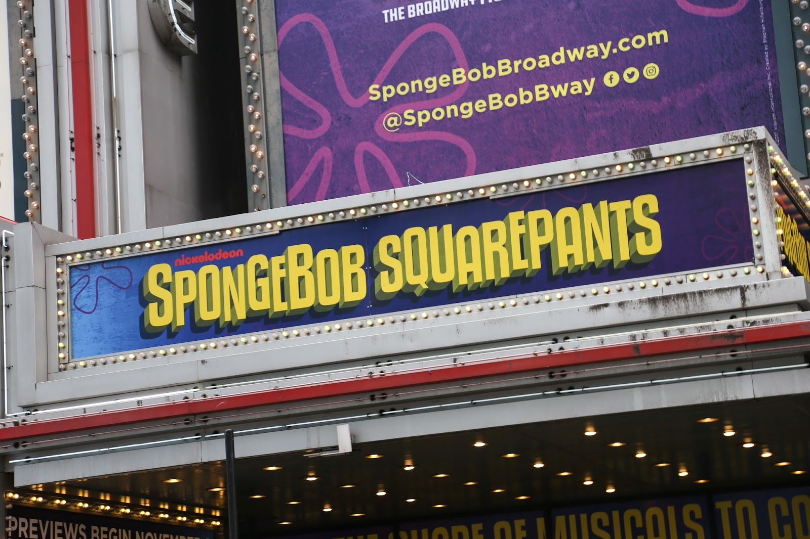 Nickalive the spongebob musical takes it 39 s place on broadway for The broadway