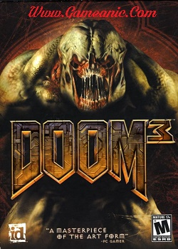 Doom 3 Game Cover