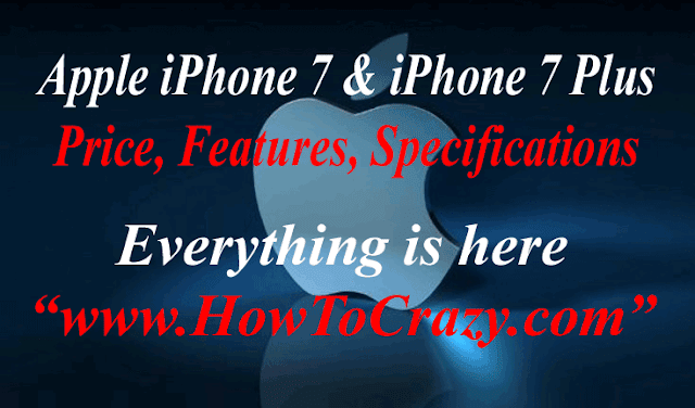 Apple Launches Apple iPhone 7 & iPhone 7 Plus and Apple Watch 2, Everything is Here About Price, Features
