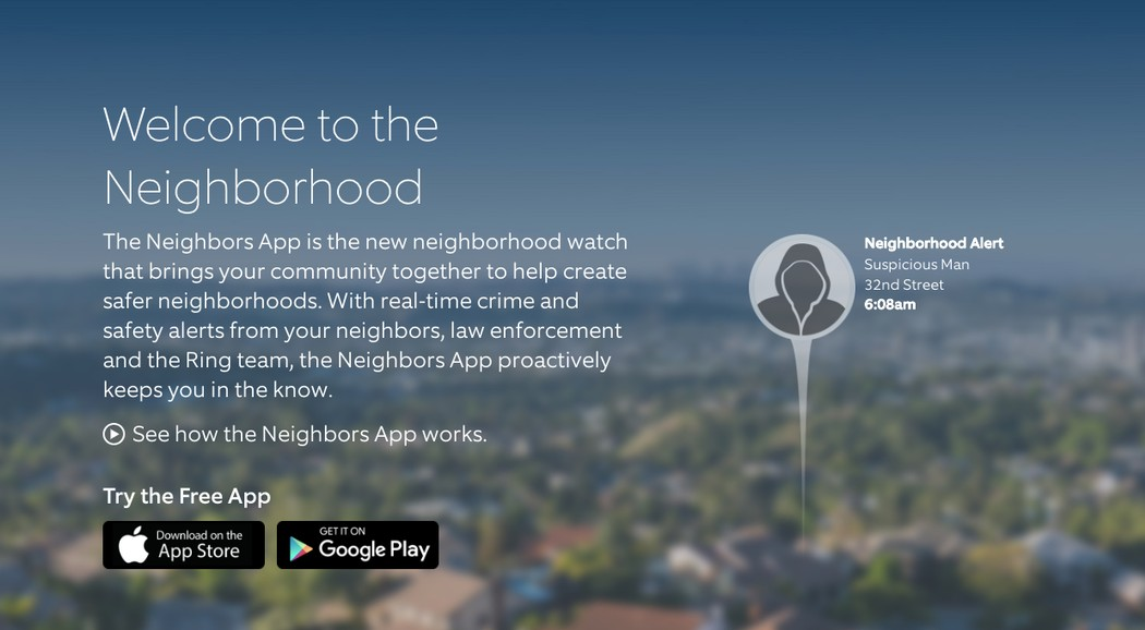 MassPrivateI: Police use spying doorbells to create digital neighborhood watch networks (Updated)