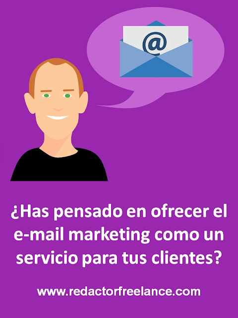 Has pensado en ofrecer un servicio de e-mail marketing a tus clientes