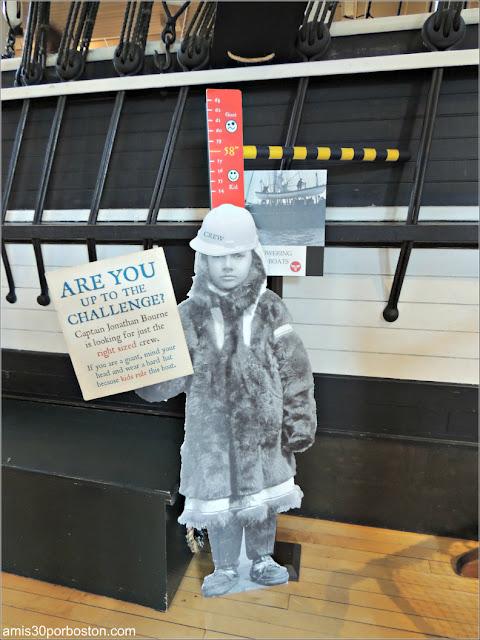 Medida Entrada en el Lagoda en el Museo de Ballenas de New Bedford, Massachusetts