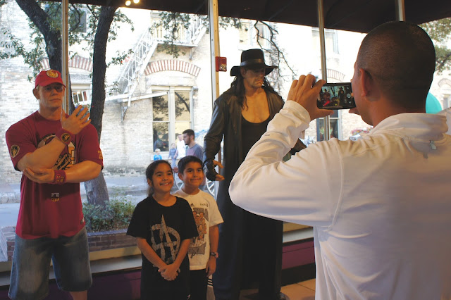 WWE Superstars Ripley's Odditorium in Downtown San Antonio Review and Discount Online Tickets