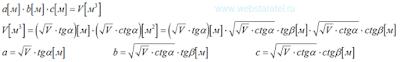 Разложение объема. Три сомножителя для получения объема. Математика для блондинок.