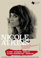 Conciertos de Nicole Atkins en España
