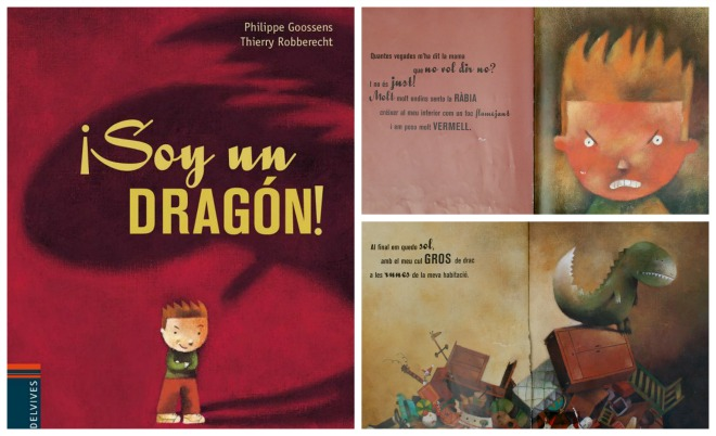 """Libro infantil gestionar rabietas: """"Soy un dragón"""""""