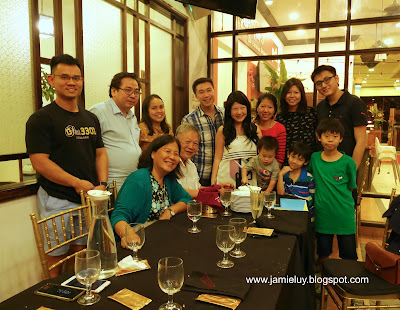 Birthday Celebration at Quentin's Eurasian Restaurant, Singapore
