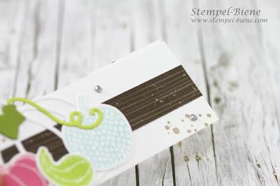 Teamtreffen stampinup; Frittverpackung; Stampinup; Pick a Pumpkin; Zauberkürbisse; Stempel-biene