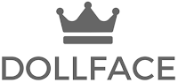 DollfaceBlogs logo with crown