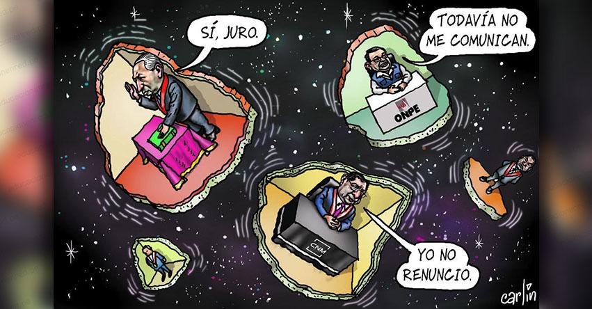Carlincaturas Sábado 21 Julio 2018 - La República