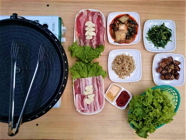 SamgyeOppa Korean Food House at The Food Trip Taytay