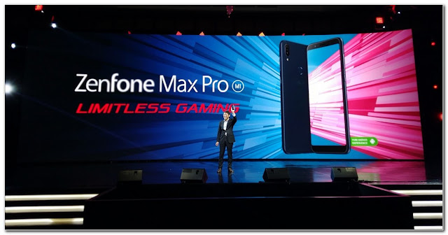 Zenfone Max Pro Ponsel Gaming