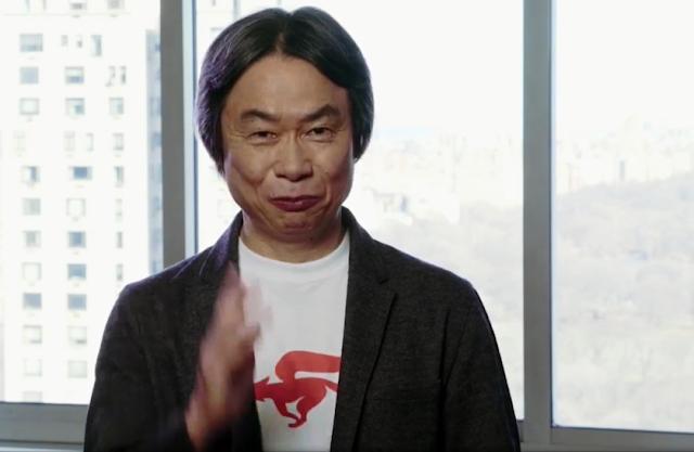 Shigeru Miyamoto Star Fox Zero shirt pout face