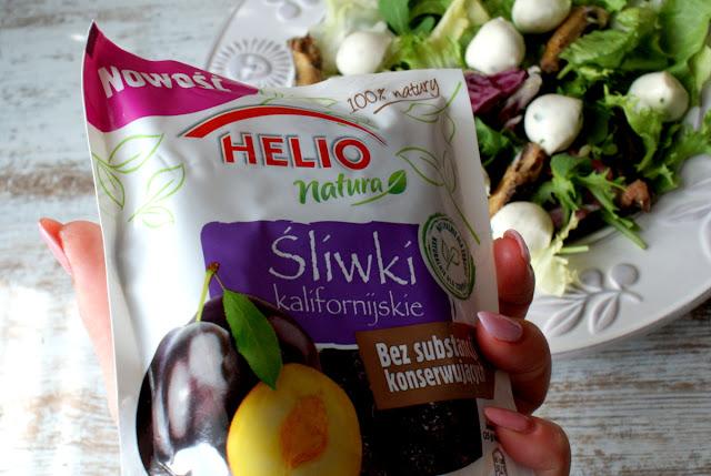 sól himalajska różowa drobna skworcu,helio natura śliwka kalifornijska,mozzarella,sałatka,jagody goji skworcu,pestki dyni skworcu,zdrowa sałatka,