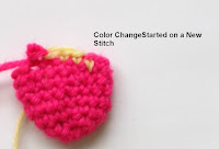 Crochet how to change color