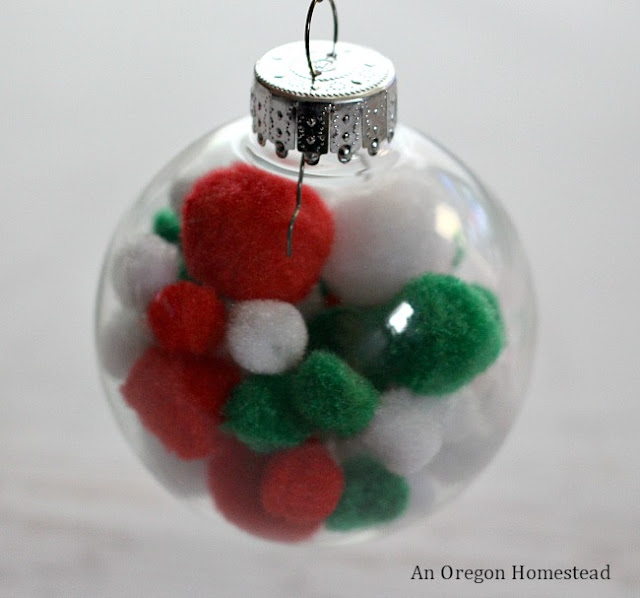 Easy homemade Christmas Ornament.