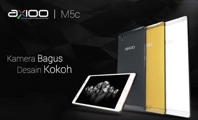 Harga HP Axioo M5C Tahun 2017 Lengkap Dengan Spesifikasi, Layar 5 Inchi, RAM 1GB, Kamera 8MP