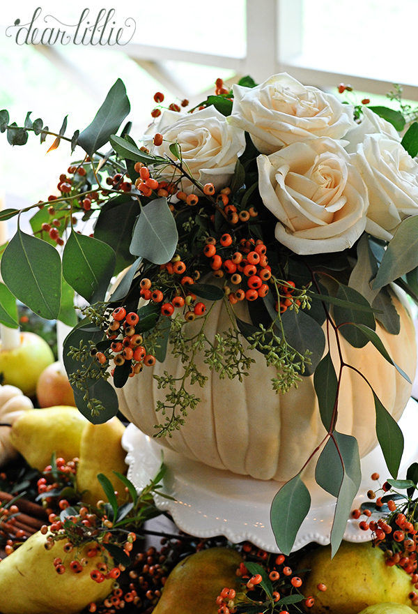 An Easy And Inexpensive Autumn Table Setting With A
