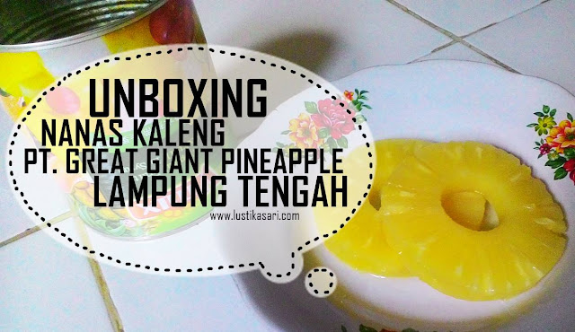 mencicipi nanas kaleng great giant pineapple
